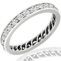 1.12ct Diamond Eternity Wedding Band