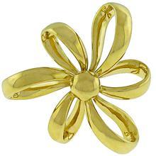 Gold Bow Pin