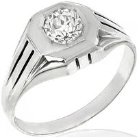 0.68ct Diamond Solitaire Gold Ring