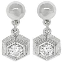 0.90ct Diamond Dangling Earrings