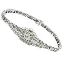 2.00ct Diamond Jules Jurgensen Watch