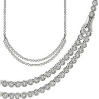 3.00ct Diamond Platinum Necklace