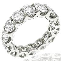 5.41ct Diamond Eternity Wedding Band