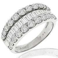 2.00ct Diamond Platinum Ring