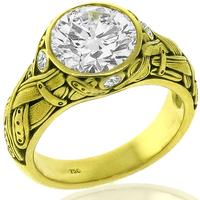 2.49ct Diamond Gold Ring