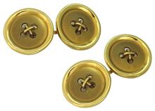Vintage Gold Cufflinks photo 1