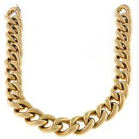 Gold Figaro Chain Necklace