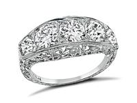 Edwardian 2.12ct Diamond Ring