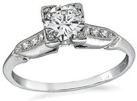 1920s 0.45ct Diamond Engagement Ring