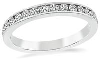Estate 0.54ct Diamond Eternity Wedding Band