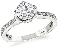 Estate 0.65ct Diamond Engagement Ring