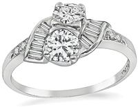 Estate 0.70ct Diamond Ring