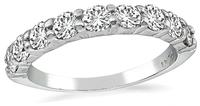 Estate 0.70ct Diamond Wedding Band