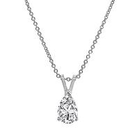 Estate 0.80ct Diamond Pendant Necklace