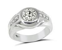 Estate 1.06ct Diamond Men's Ring