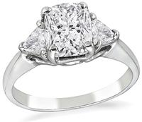 Estate GIA Certified 1.19ct Diamond Engagement Ring