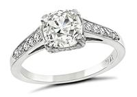 Estate 1.23ct Diamond Engagement Ring