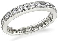 Estate 1.25ct Diamond Eternity Wedding Band
