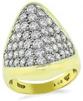Estate 1.50ct Diamond Gold Ring