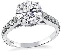 Estate 2.16ct Diamond Engagement Ring
