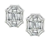 Estate 2.50ct Diamond Earrings