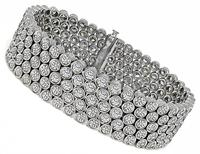 Estate 20.00ct Diamond Bracelet
