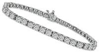Estate 4.00ct Diamond Tennis Bracelet
