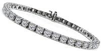 Estate 5.65ct Diamond Tennis Bracelet