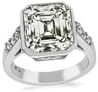 Estate 5.94ct Diamond Engagement Ring