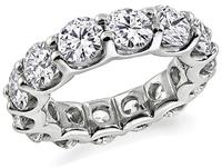 6.60ct Diamond Eternity Wedding Band