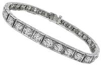 Estate 7.00ct Diamond Bracelet