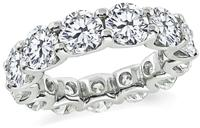 Estate 7.00ct Diamond Eternity Wedding Band