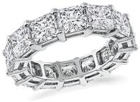 Estate 8.23ct Diamond Eternity Wedding Band
