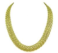Estate Buccellati Crepe de Chine Necklace