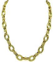 Estate Chaumet Gold Necklace