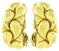 Estate Chopard Gold Casmir Earrings