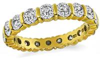 Estate H Stern 2.20ct Diamond Eternity Wedding Band