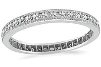 Estate 0.45ct Diamond Eternity Wedding Band