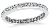 Estate 0.50ct Diamond Eternity Wedding Band