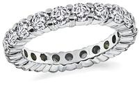 Estate 2.00ct Diamond Eternity Wedding Band