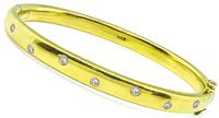 Estate 0.40ct Diamond Etoile Style Bangle