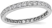 Vintage 1.50ct Diamond Eternity Wedding Band