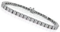 Estate 7.39ct Diamond Tennis Bracelet
