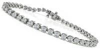 Estate 5.00ct Diamond Tennis Bracelet