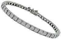 Art Deco 5.00ct Diamond Tennis Bracelet