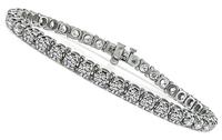 Estate 10.00ct Diamond Tennis Bracelet