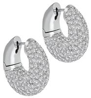 Estate 6.00ct Diamond Earrings