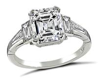 Estate GIA Certified 2.02ct Diamond Engagement Ring