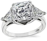 Estate GIA Certified 3.03ct Diamond Engagement Ring