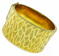 Estate Gold Bangle
